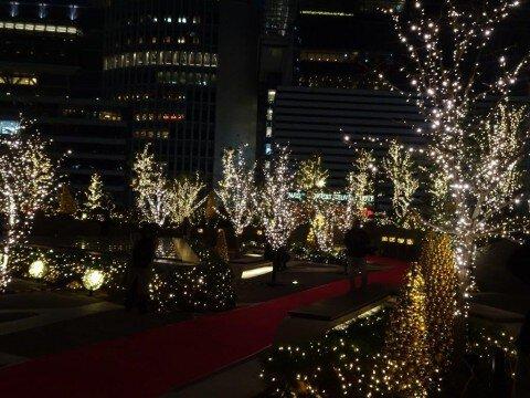 大名古屋ビルヂングのイルミネーション写真
