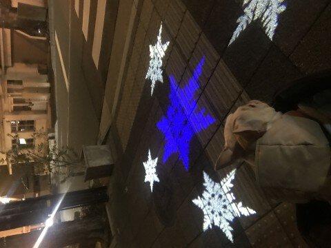 北野坂・北野異人館街のイルミネーション写真