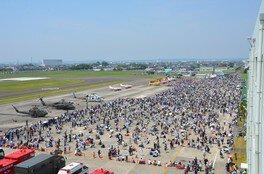 静浜基地60周年、焼津市・大井川町合併10周年記念航空祭