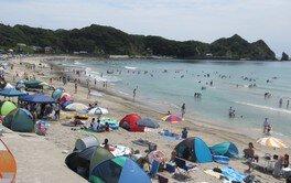 【海水浴】鵜原海水浴場