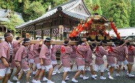 知井八幡神社祭礼