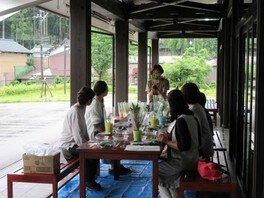 苔入りミニ盆栽