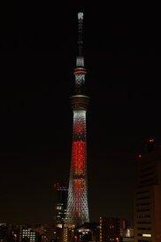 東京スカイツリー(R)クリスマス限定ライティング