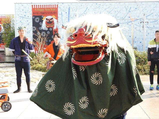 JR博多シティ年始イベント
