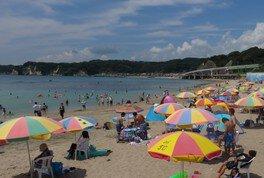 【海水浴】勝浦中央海水浴場