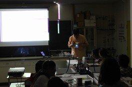 「放送大学新時代」記念企画 夏休み 親子で不思議体験教室 隠れた光を見つけよう!