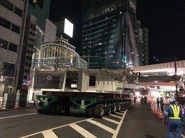 道路工事現場 こども見学会(渋谷区)