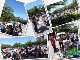 西葛西「新田6号公園」フリーマーケット(6月)