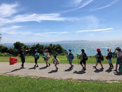 ヤックス自然学校「第44回サマーキャンプ:岬のアドベンチャー」