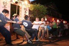 堀松綱引き祭り