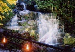 深山峡 滝と風のまつり