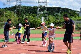 初心者のための小学生一輪車教室