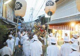 忠海祇園祭とみこし行事