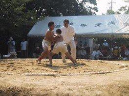 八朔大祭 奉納子供相撲大会