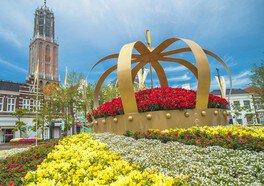 フォトスポット「花の広場(アムステルダム広場)」