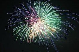約9000発の花火が一気に打ち上げられる