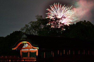 宇佐神宮夏越祭り花火大会