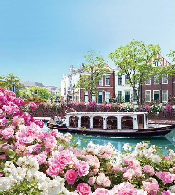 ハウステンボス 2000品種130万本のバラ祭