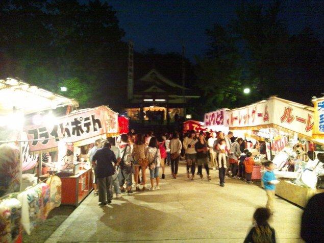 勝田神社例祭 春まつり