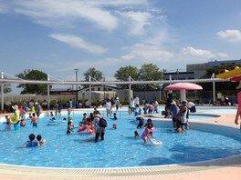 土浦市水郷プール ちびっ子プール無料開放