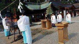 椿神社 夏越祭