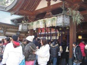 椿神社 歳旦祭