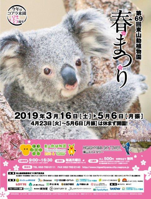 第69回 東山動植物園春まつり