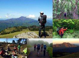 KOMPASスタッフ多田の山企画 石鎚山系キャンプトレッキング