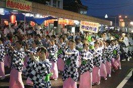 第43回糸魚川おまんた祭り大市民流し