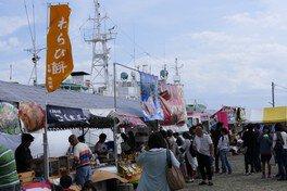 焼津漁港内港(旧魚市場)
