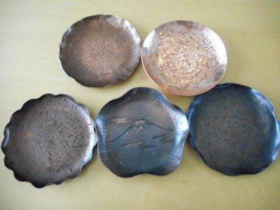 燕の匠と「ものづくり」小皿づくり~鎚起銅器の小皿制作体験~