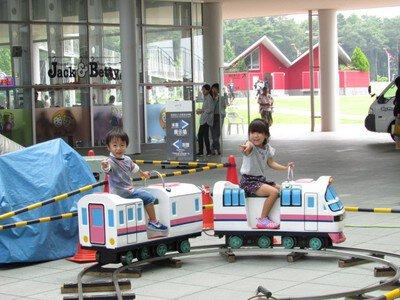 青森県立三沢航空科学館 お盆のミニ遊園地2020