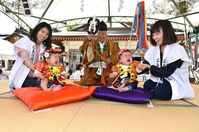 広島泣き相撲大会