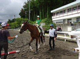 アウトオブキッザニア「JRA競走馬を支える仕事体験in栗東トレーニング・センター」