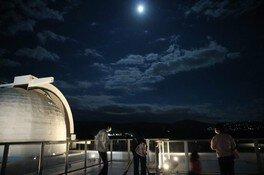 8月の星空観望会~いて座散光星雲 M8とM20~