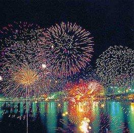 【2020年中止】湯河原温泉海上花火大会