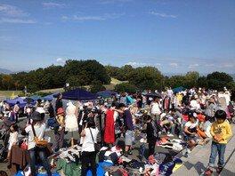 太陽が丘公園 フリーマーケット(9月)