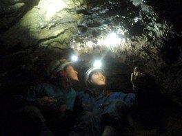 軽井沢近郊・ケイビング洞窟探検「アスレチックケイブ」0.5day