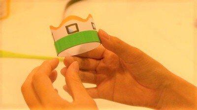 サイエンス玉手箱「手づくり『Xジャイロ』を飛ばそう!」