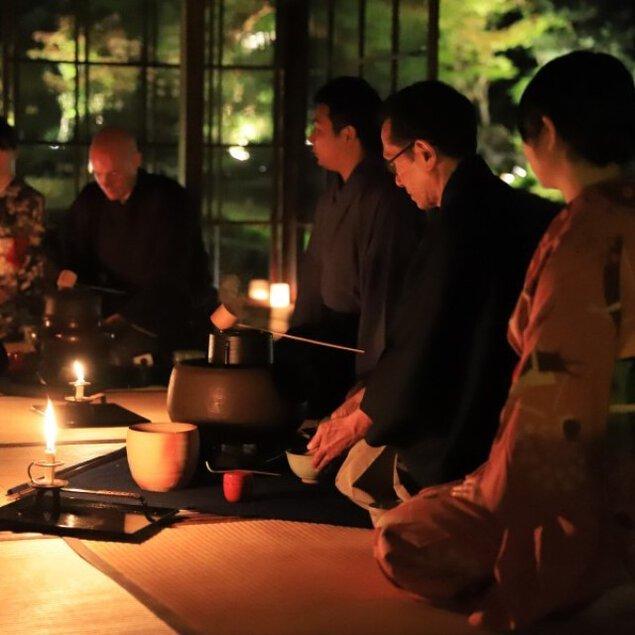瓢亭×無鄰菴 GW特別限定 限定人数で京都を満喫!青もみじゆれる和ろうそく茶会<中止となりました>