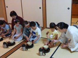 子どもたちの七夕茶会
