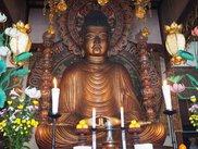 御室大仏の転法輪寺とふすま絵が戻った龍安寺へ