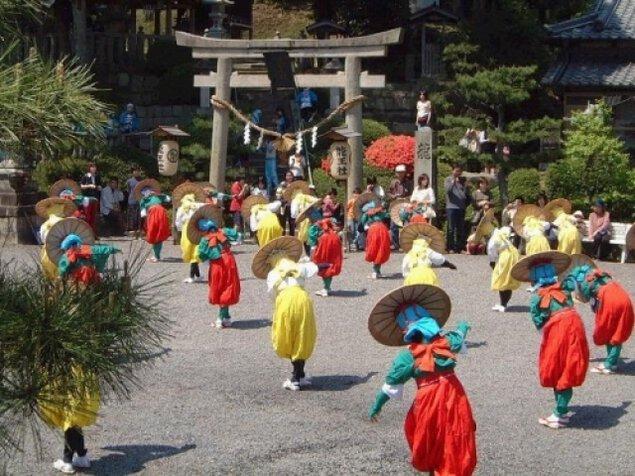 日枝神社例大祭(お田植え踊り)<中止となりました>