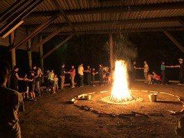 秋のファミリーキャンプ