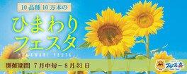 滋賀農業公園ブルーメの丘 ひまわりフェスタ