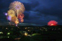 【2020年開催なし】浅川の花火