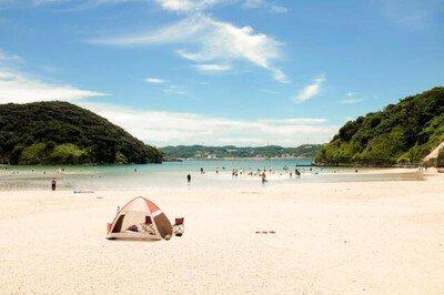 【海水浴】辰ノ島海水浴場
