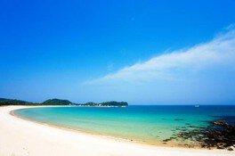 【海水浴】筒城浜海水浴場
