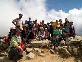 おやじテレマーカーズと登る 唐松岳登山