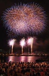 【2020年開催なし】函館開港160周年記念 函館港まつり協賛 第64回道新花火大会